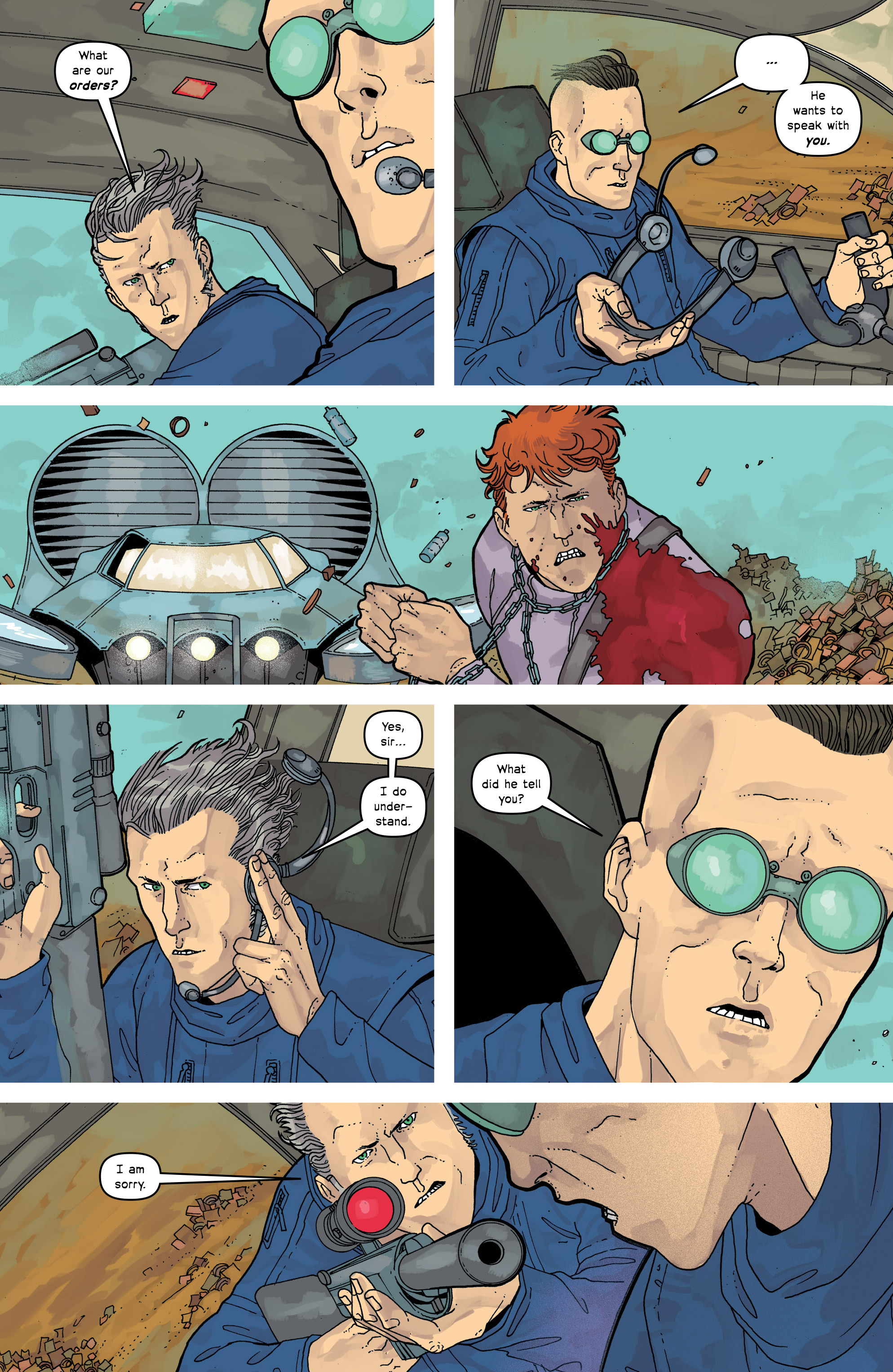 Read online Great Pacific comic -  Issue #17 - 8