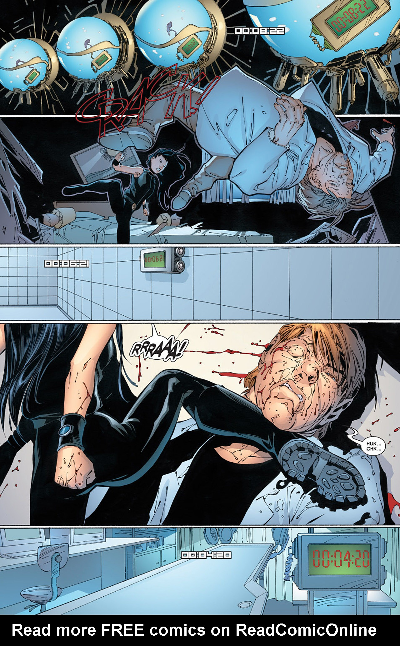 Read online X-23 (2005) comic -  Issue #6 - 16