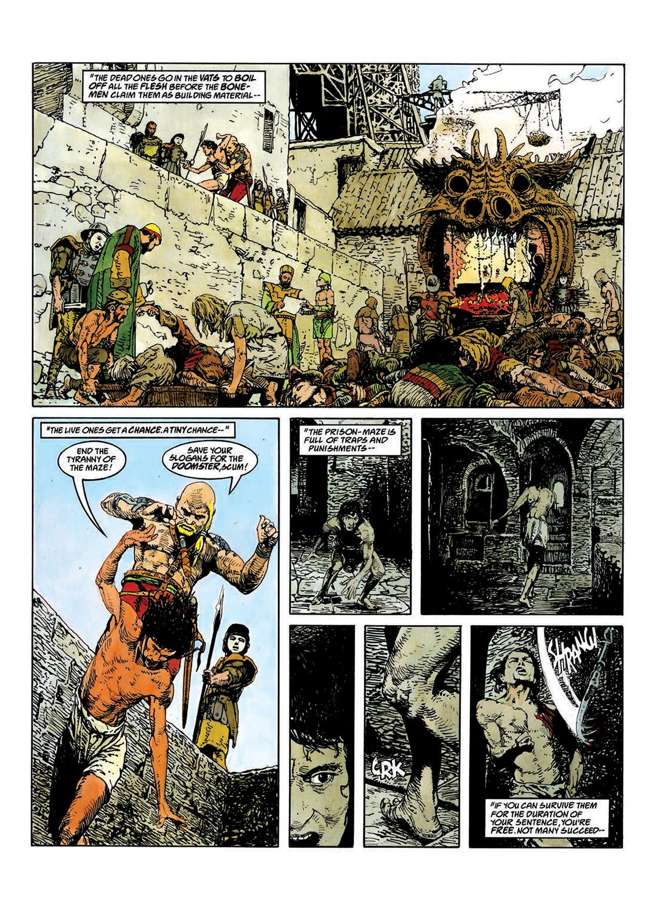 Read online Mazeworld comic -  Issue # TPB - 31
