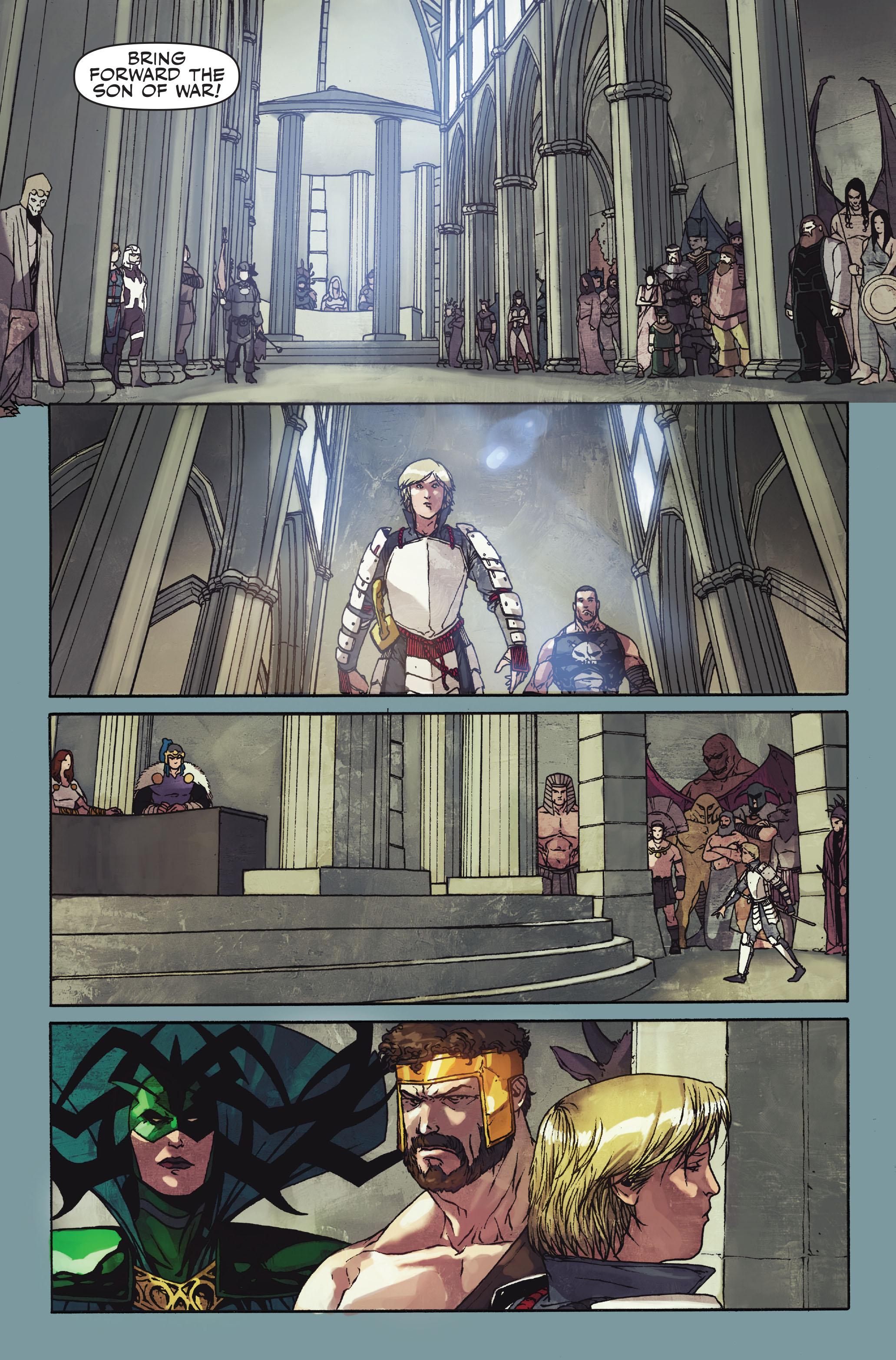 Read online Secret Warriors comic -  Issue #10 - 22