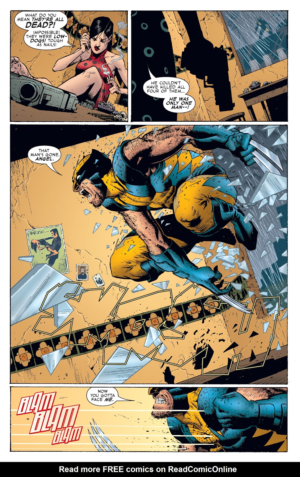 Wolverine: Dangerous Games issue Full - Page 32
