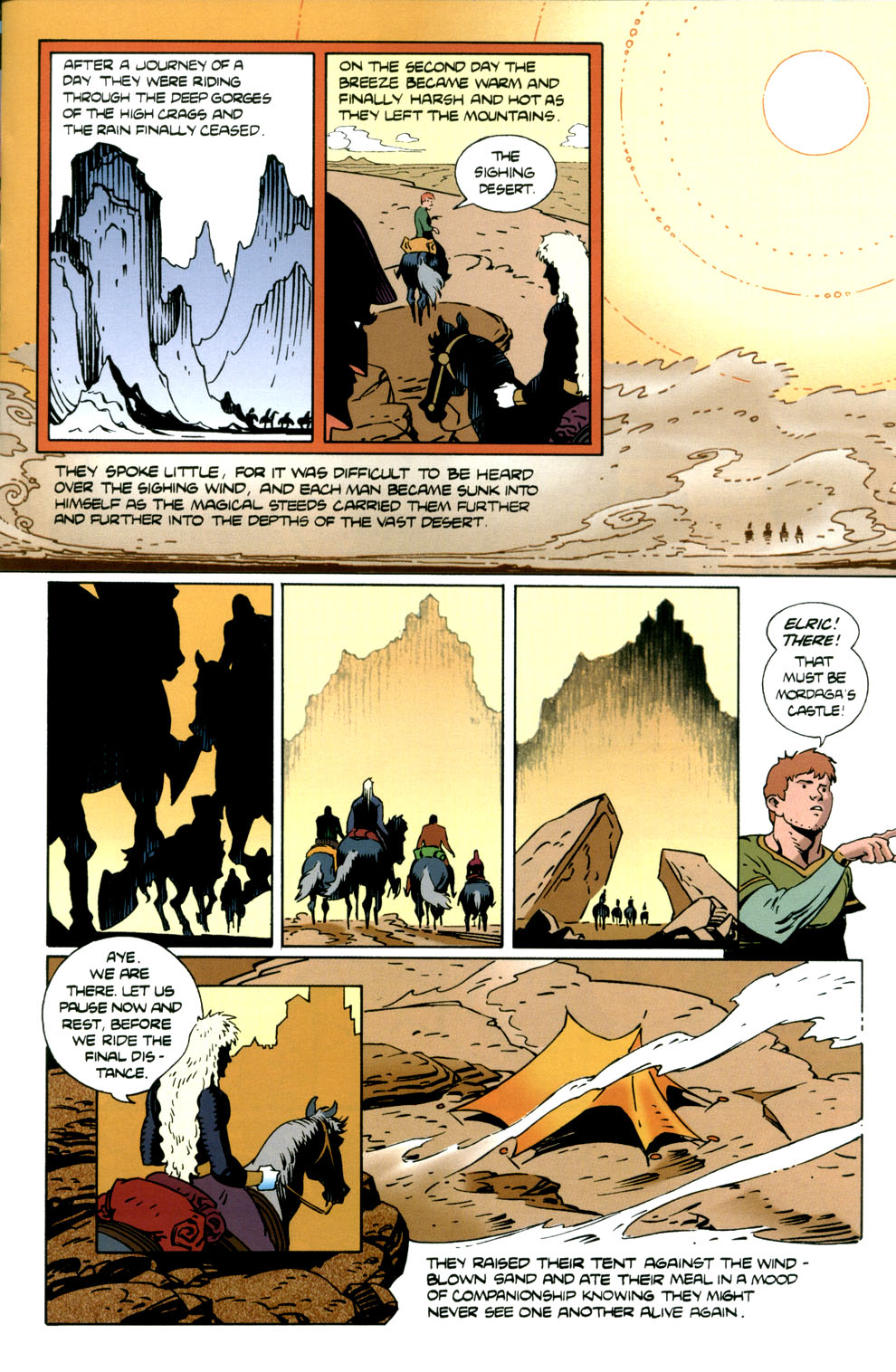 Read online Elric: Stormbringer comic -  Issue #5 - 11