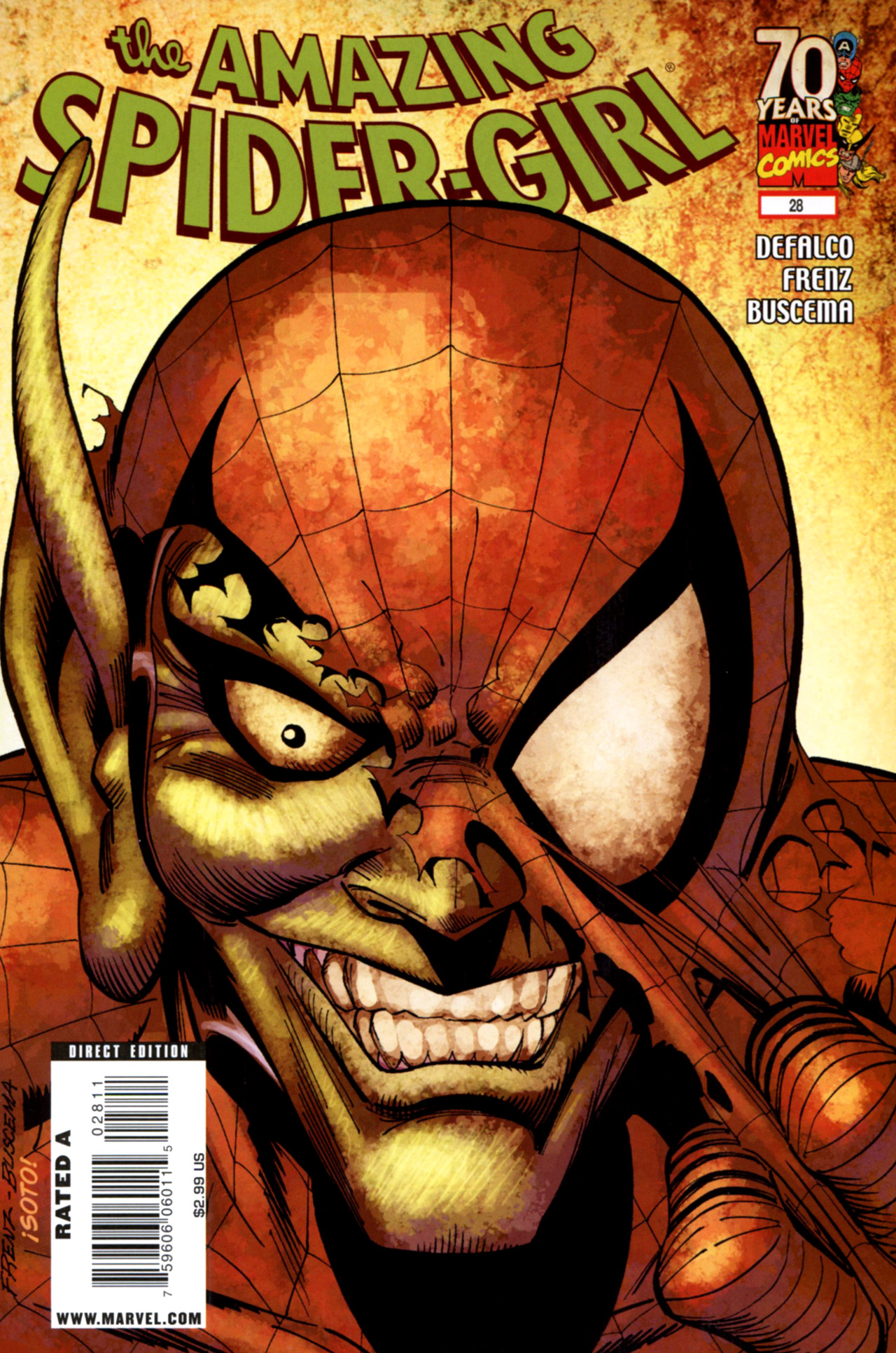 Read online Amazing Spider-Girl comic -  Issue #28 - 1