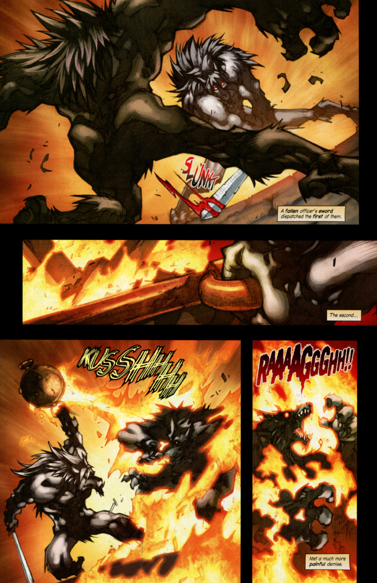 Read online World of Warcraft: Curse of the Worgen comic -  Issue #4 - 10