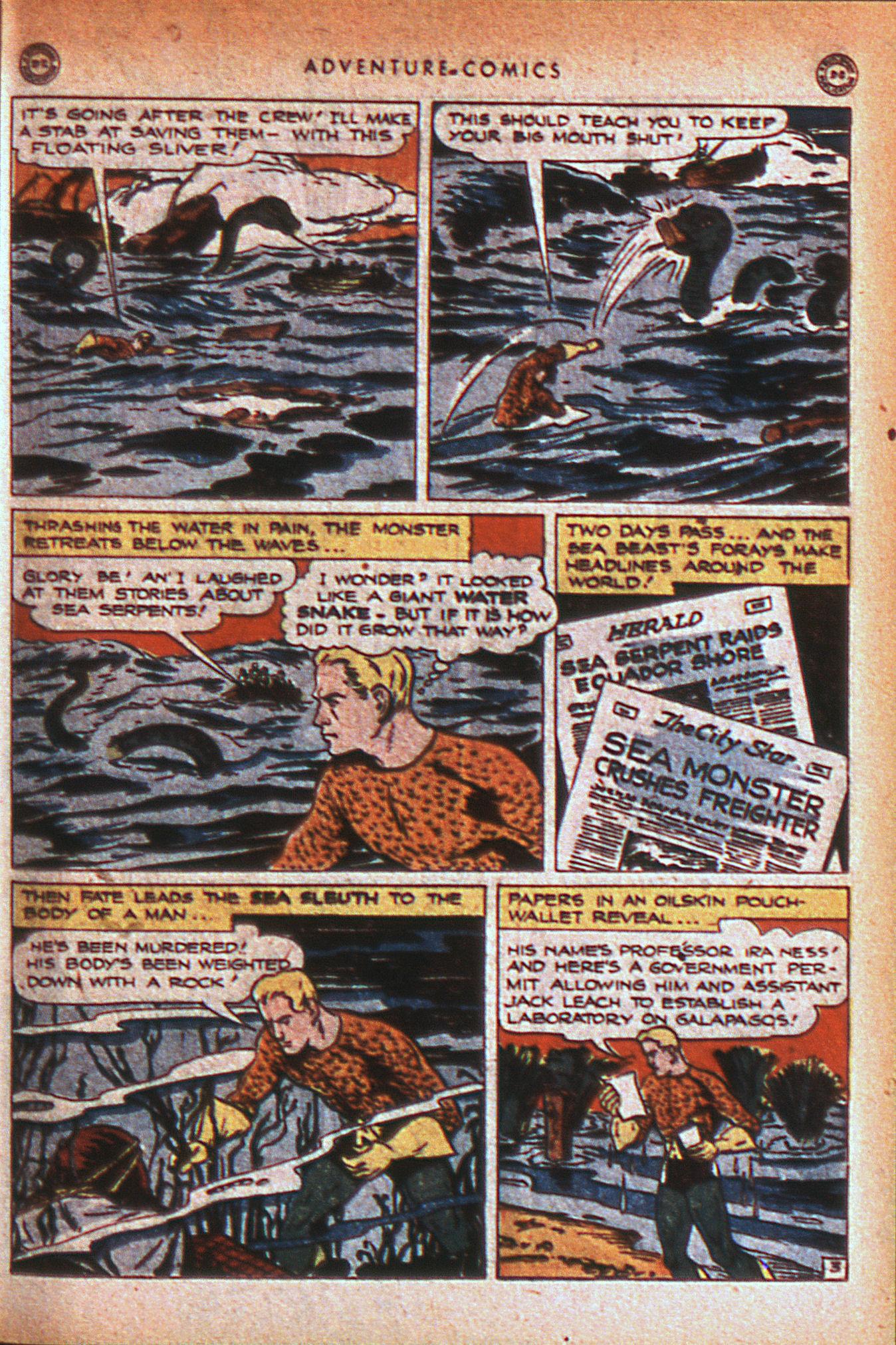 Read online Adventure Comics (1938) comic -  Issue #124 - 36