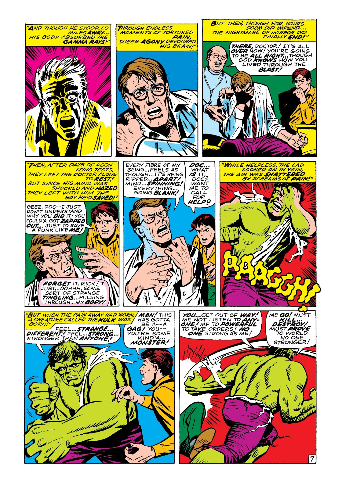 Read online Marvel Masterworks: The Incredible Hulk comic -  Issue # TPB 3 (Part 3) - 70