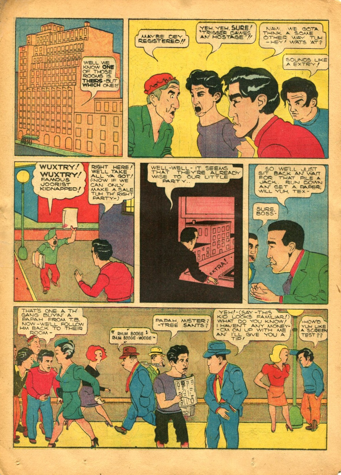 Read online Shadow Comics comic -  Issue #12 - 36