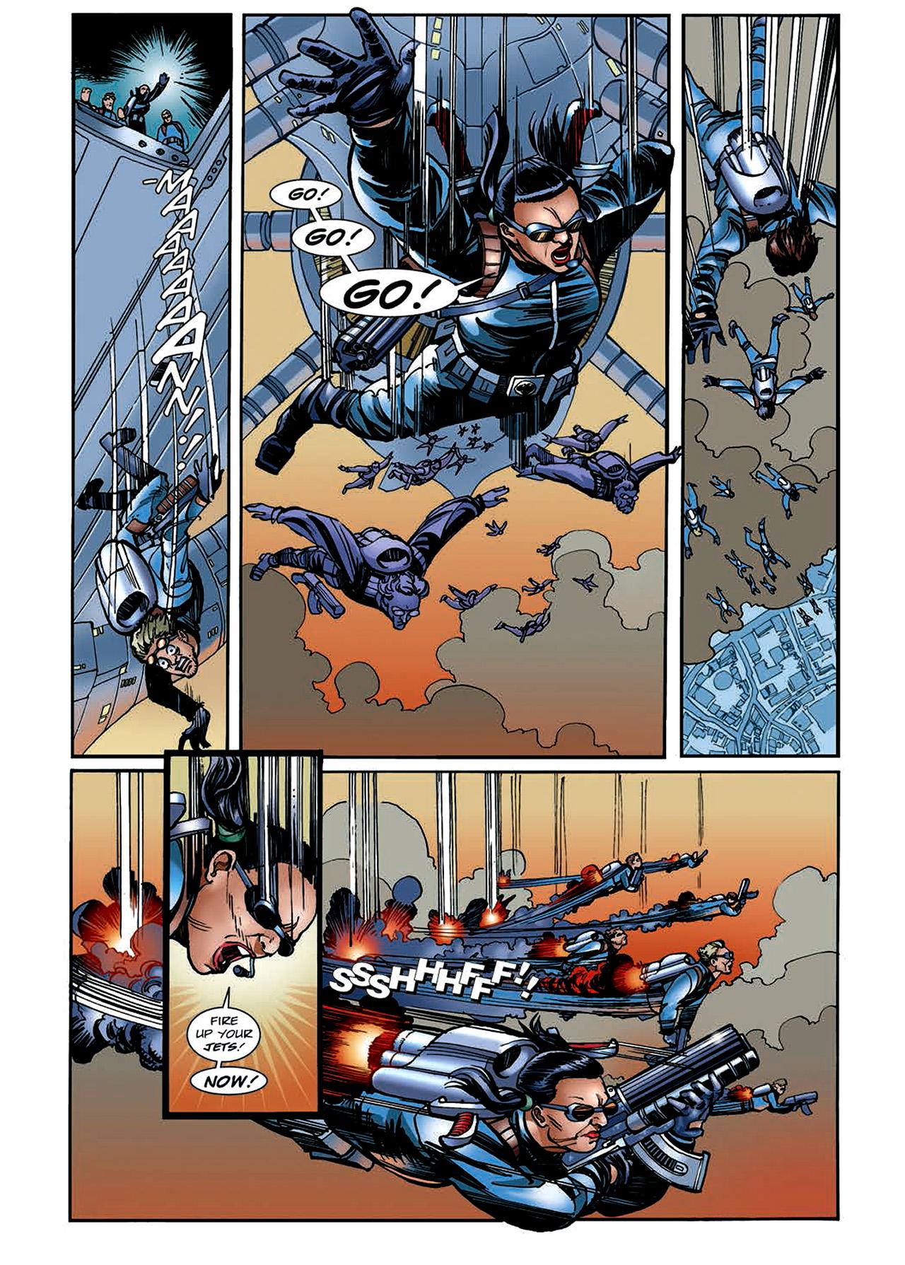 Read online Nikolai Dante comic -  Issue # TPB 4 - 128
