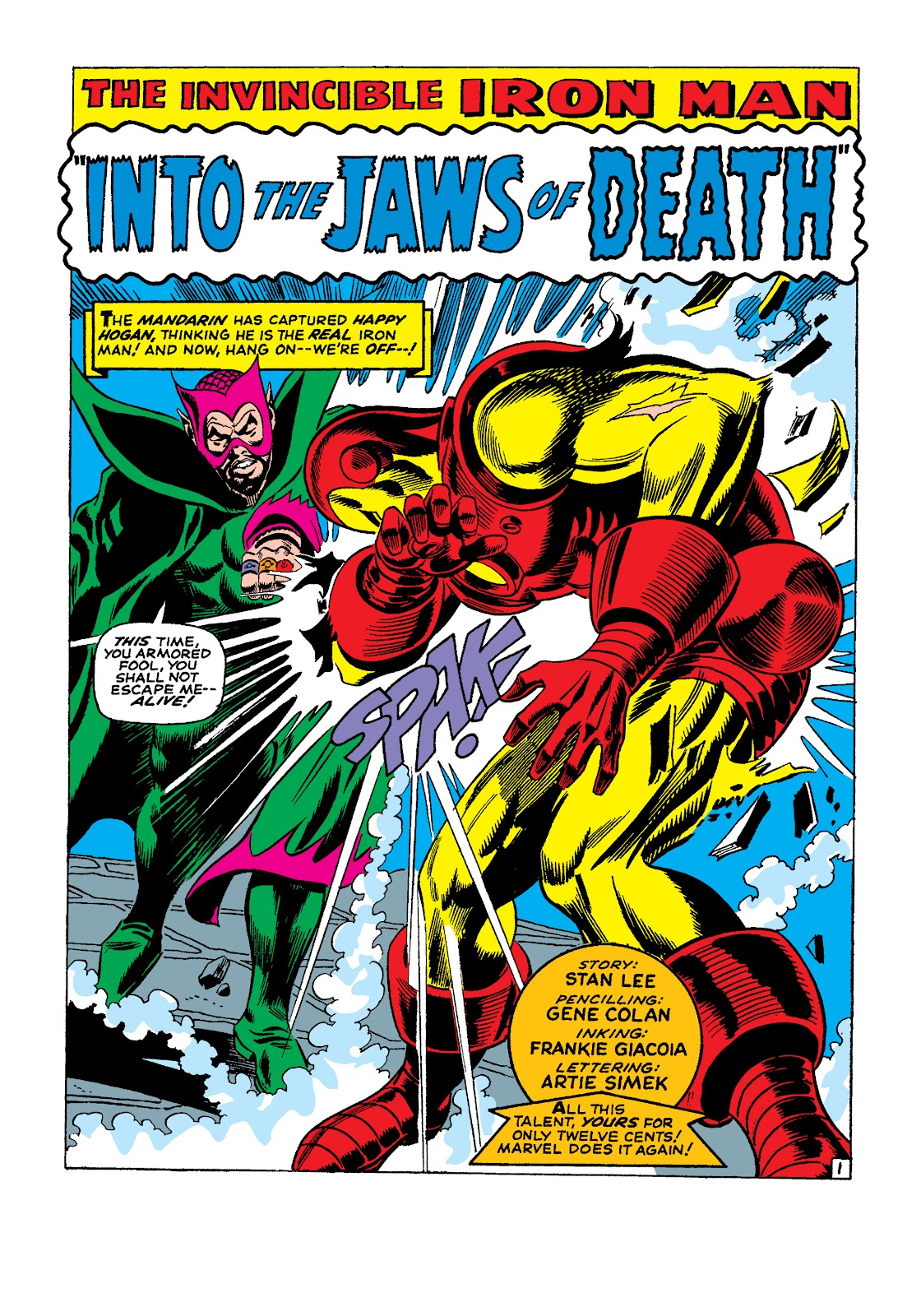 Read online Marvel Masterworks: The Invincible Iron Man comic -  Issue # TPB 4 (Part 1) - 20