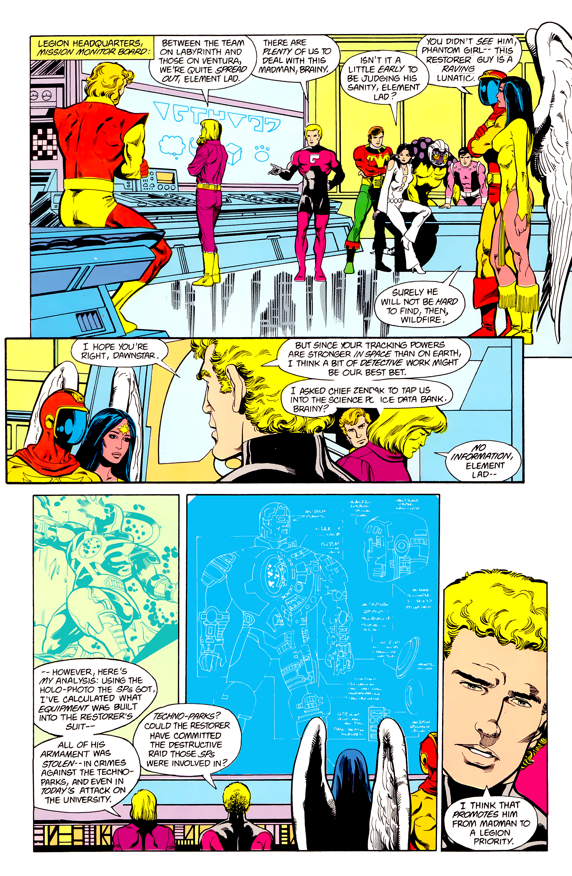 Legion of Super-Heroes (1984) 22 Page 14