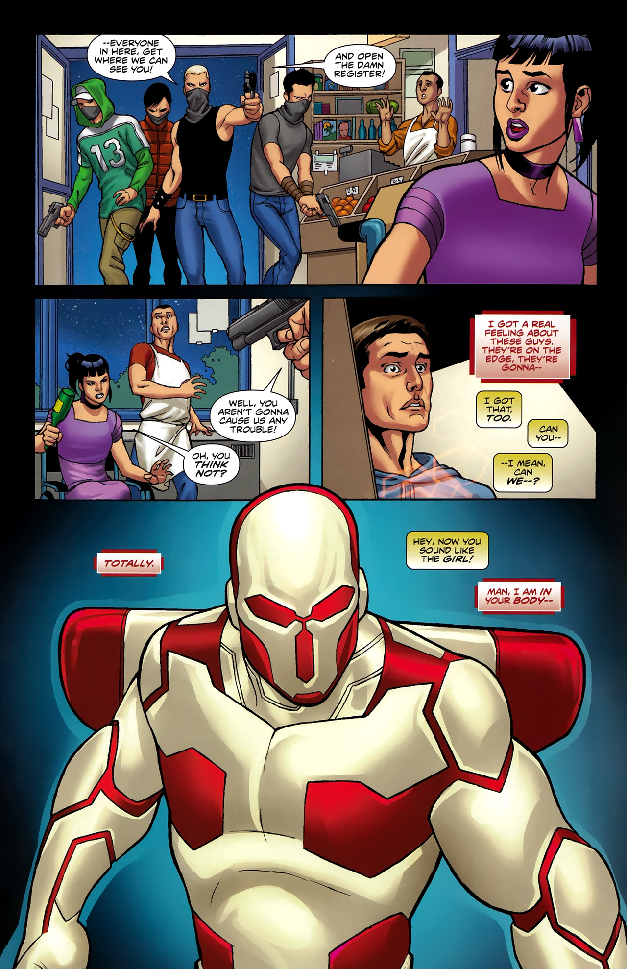 Read online Soldier Zero comic -  Issue #2 - 22