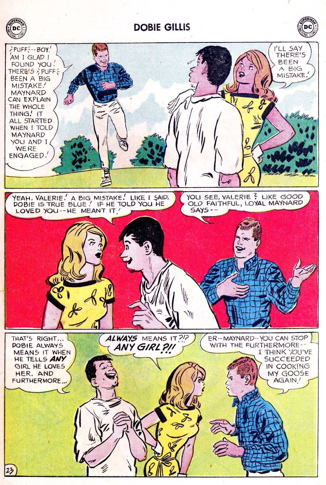 Many Loves of Dobie Gillis issue 21 - Page 29