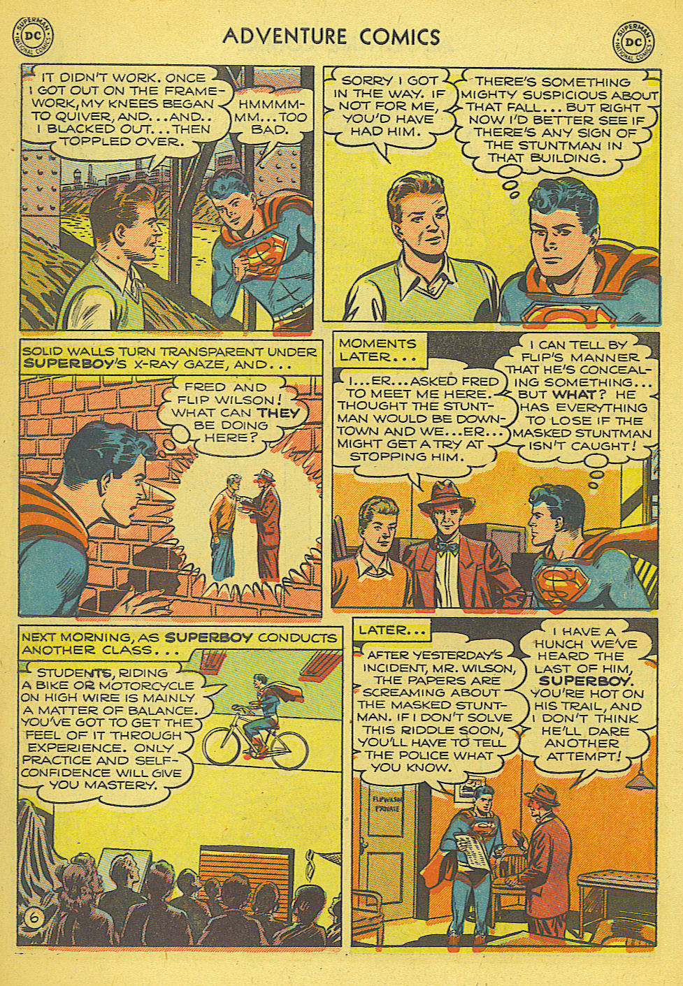 Read online Adventure Comics (1938) comic -  Issue #165 - 7
