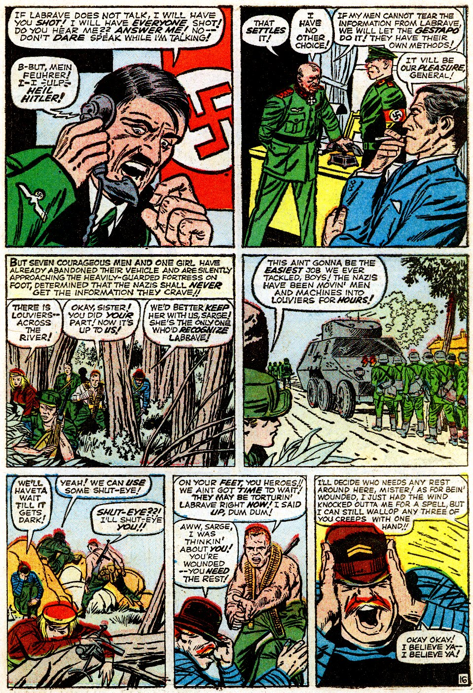 Read online Sgt. Fury comic -  Issue #1 - 23