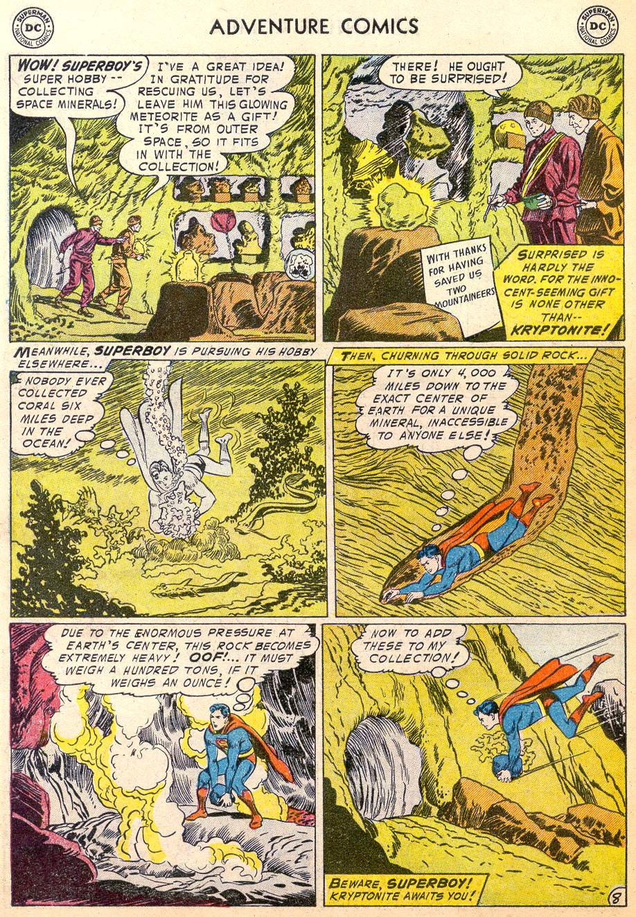 Read online Adventure Comics (1938) comic -  Issue #215 - 10