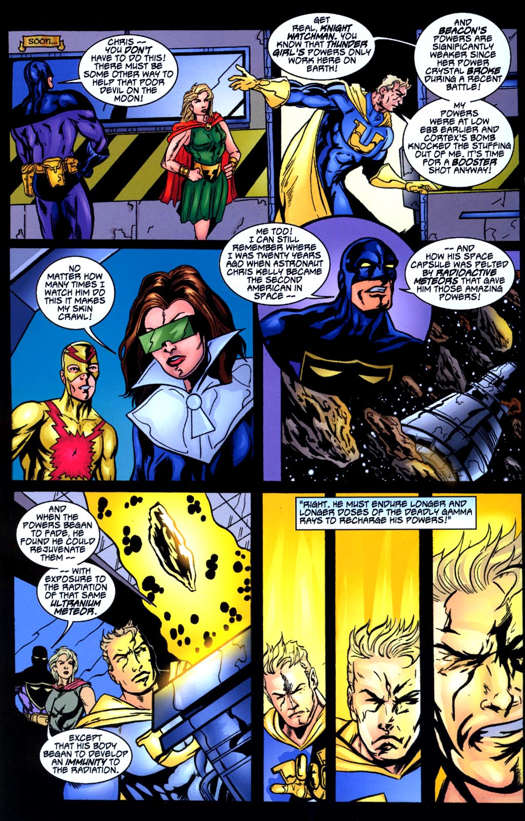 Read online Big Bang: Round Table of America comic -  Issue # Full - 8
