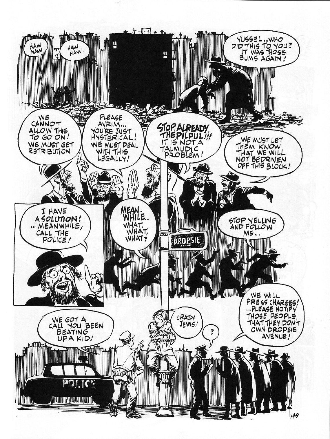 Read online Dropsie Avenue, The Neighborhood comic -  Issue # Full - 151