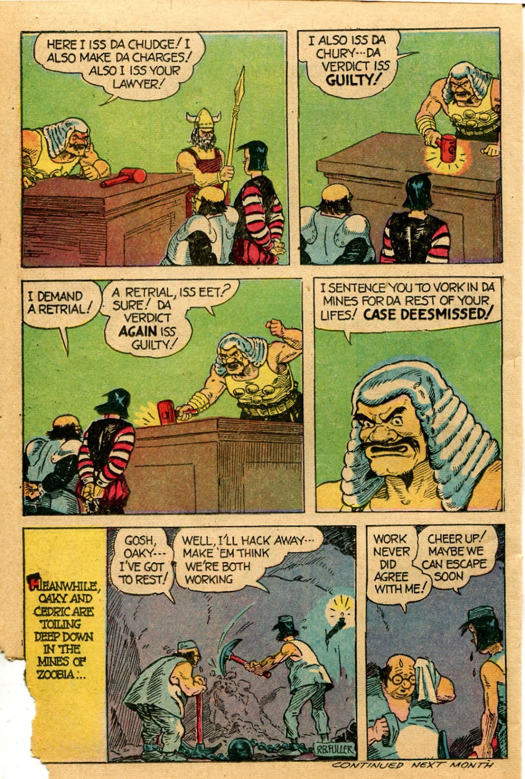 Read online Famous Funnies comic -  Issue #127 - 38