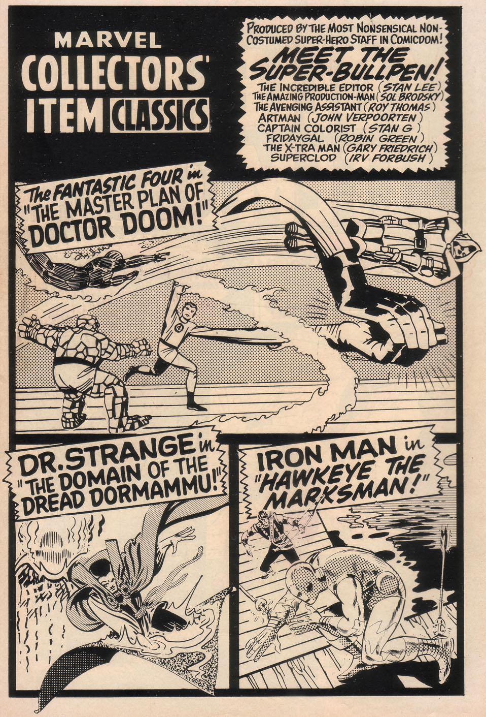 Marvel Collectors Item Classics 17 Page 2