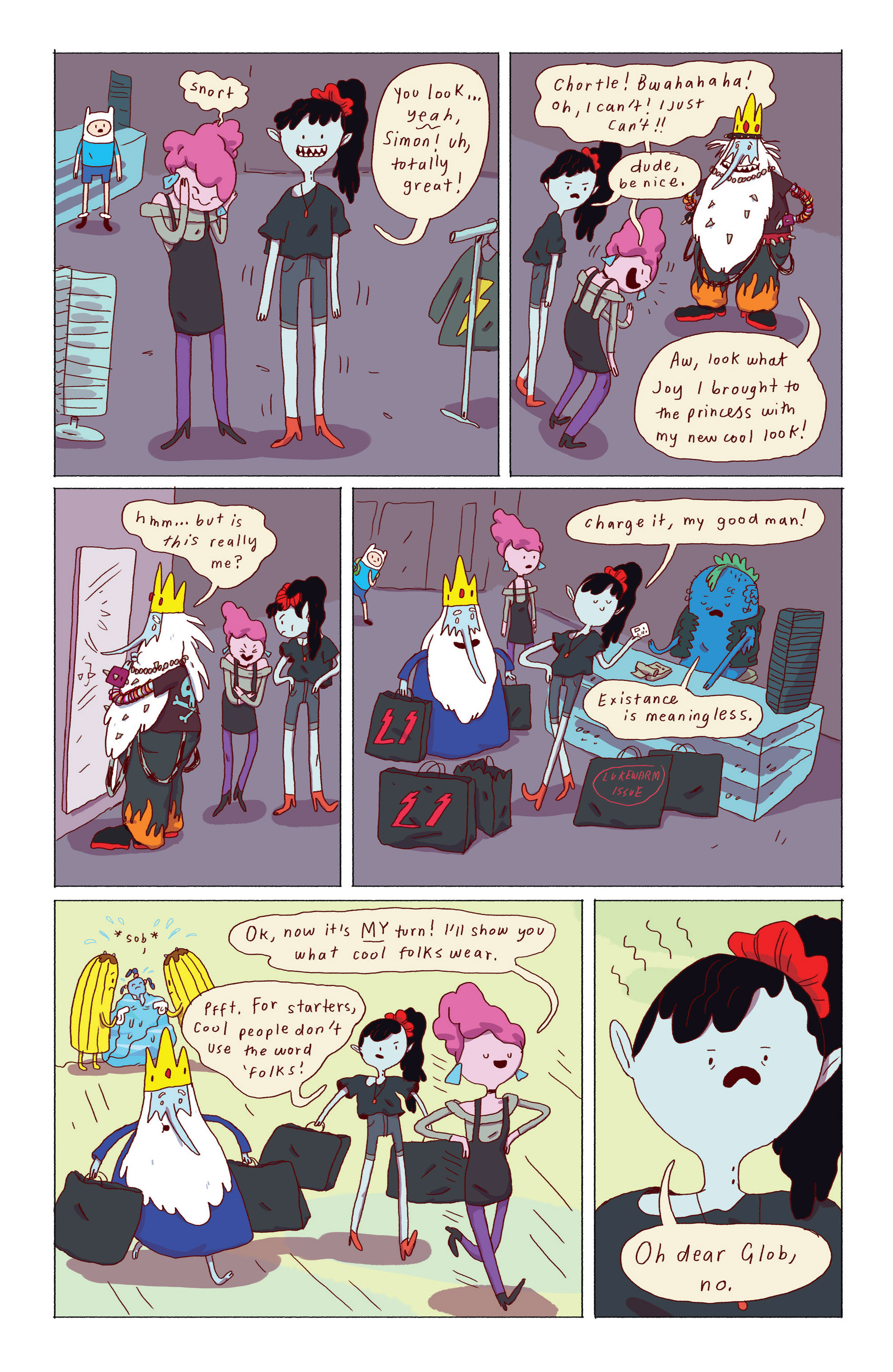 Read online Adventure Time: Ice King comic -  Issue #2 - 16