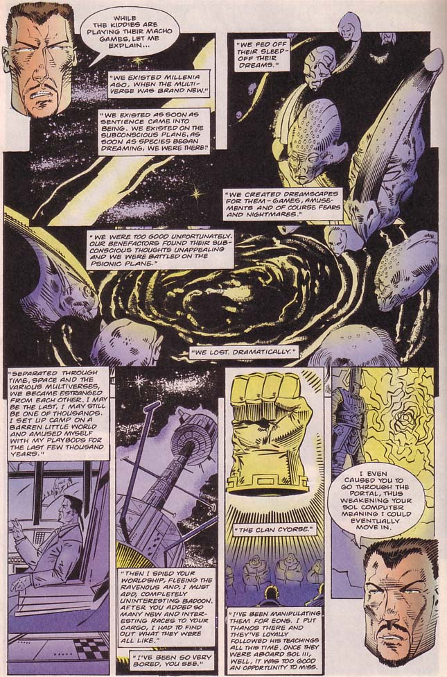 Read online Cyberspace 3000 comic -  Issue #8 - 11