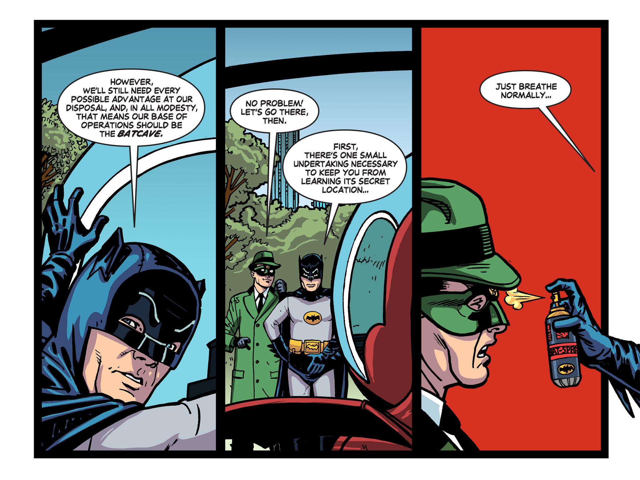 Read online Batman '66 Meets the Green Hornet [II] comic -  Issue #5 - 41