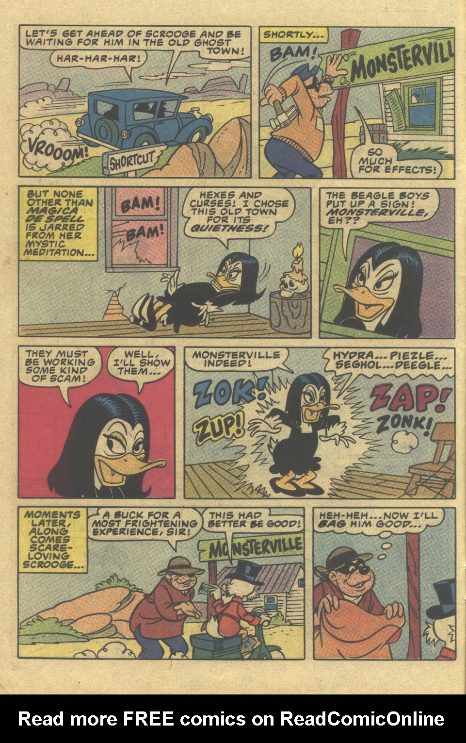 Read online Uncle Scrooge (1953) comic -  Issue #197 - 10