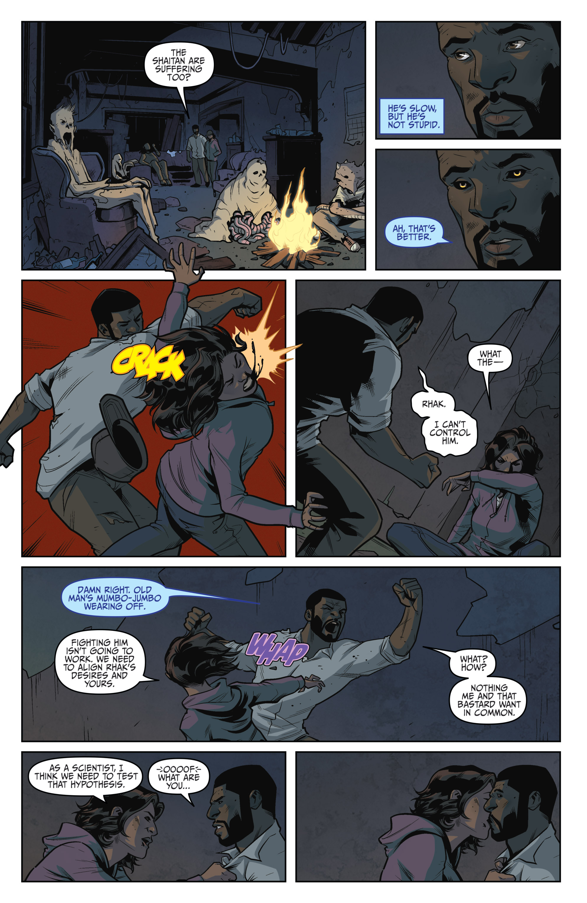 Read online Darkness Visible comic -  Issue #5 - 16