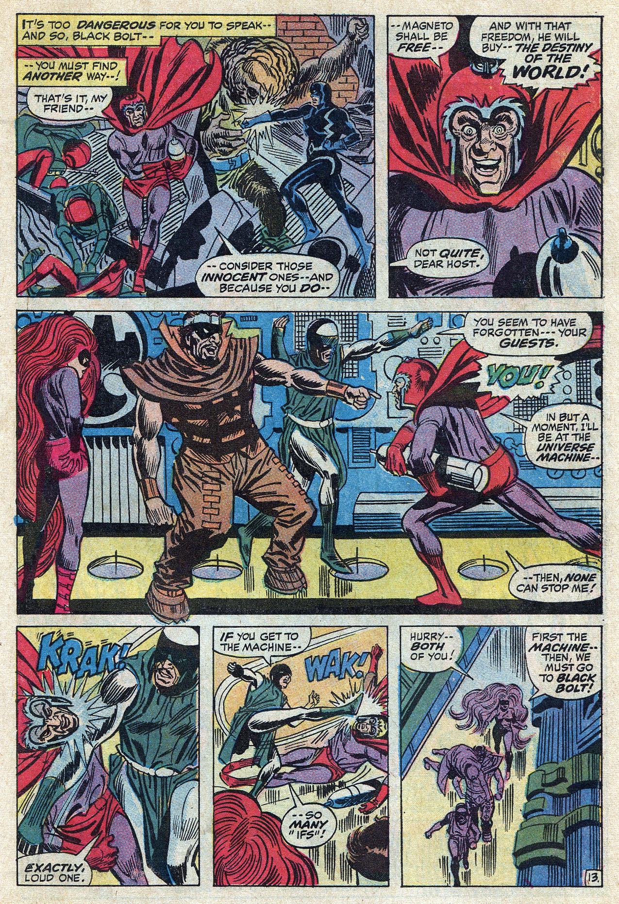Read online Amazing Adventures (1970) comic -  Issue #10 - 19