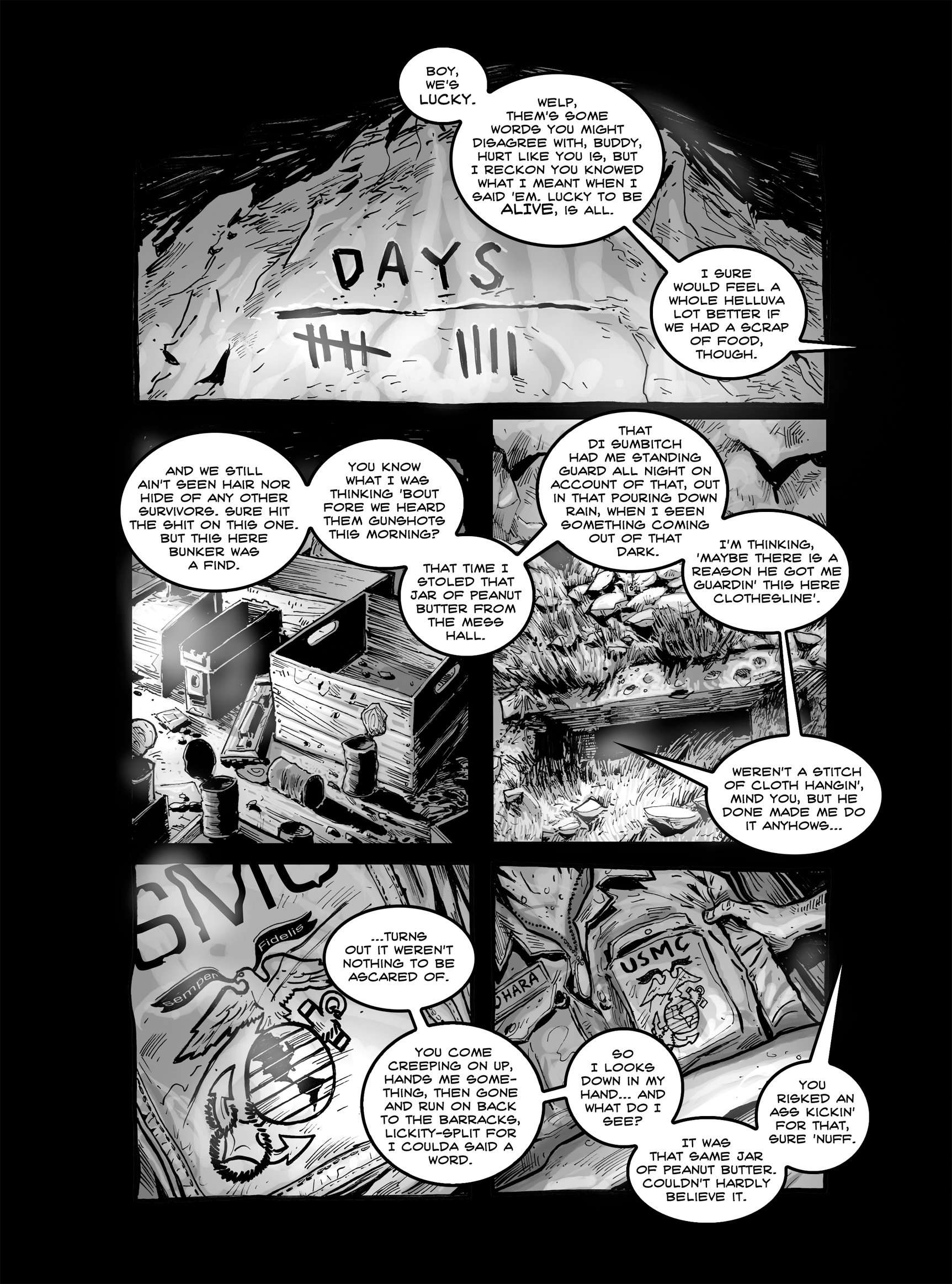 Read online FUBAR comic -  Issue #2 - 16