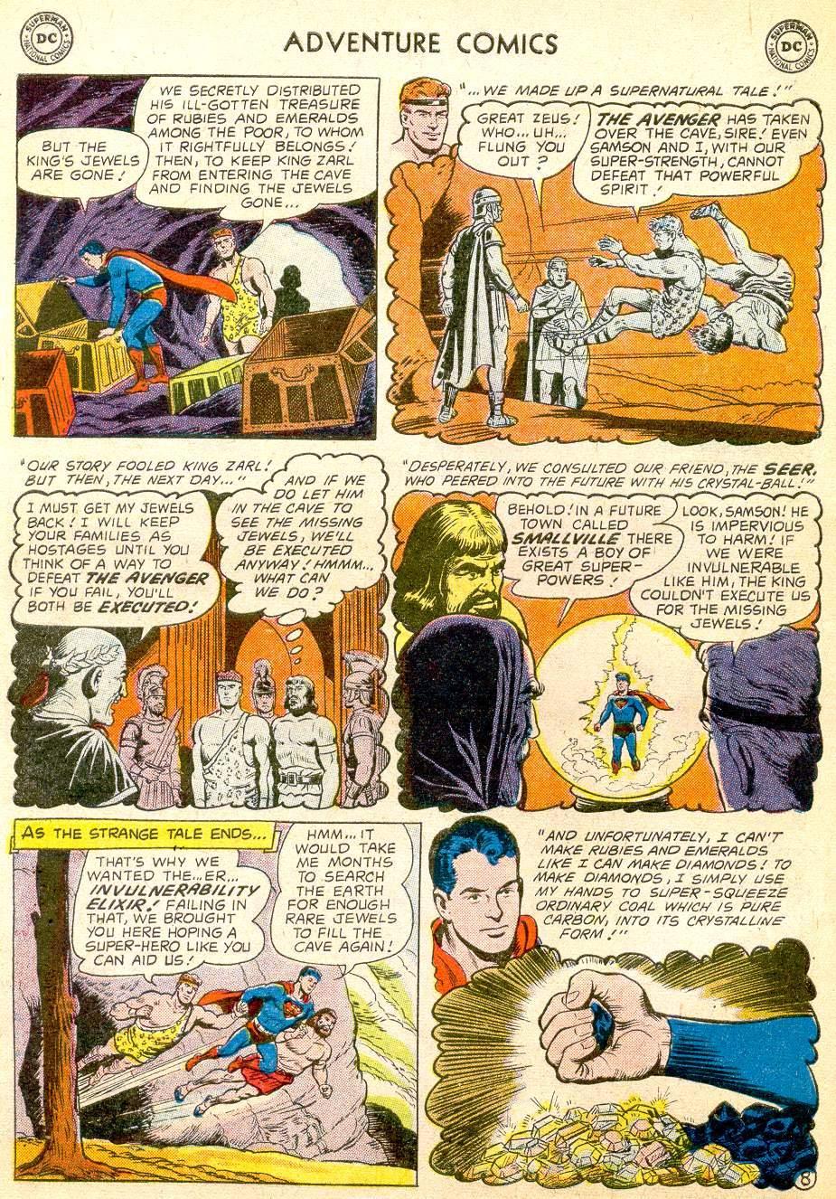Read online Adventure Comics (1938) comic -  Issue #257 - 10