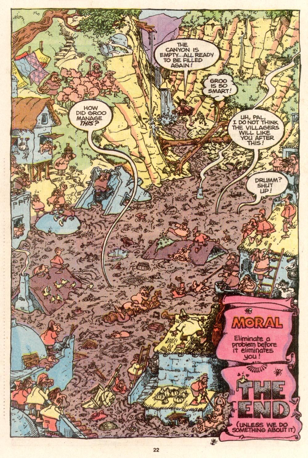 Read online Sergio Aragonés Groo the Wanderer comic -  Issue #65 - 23