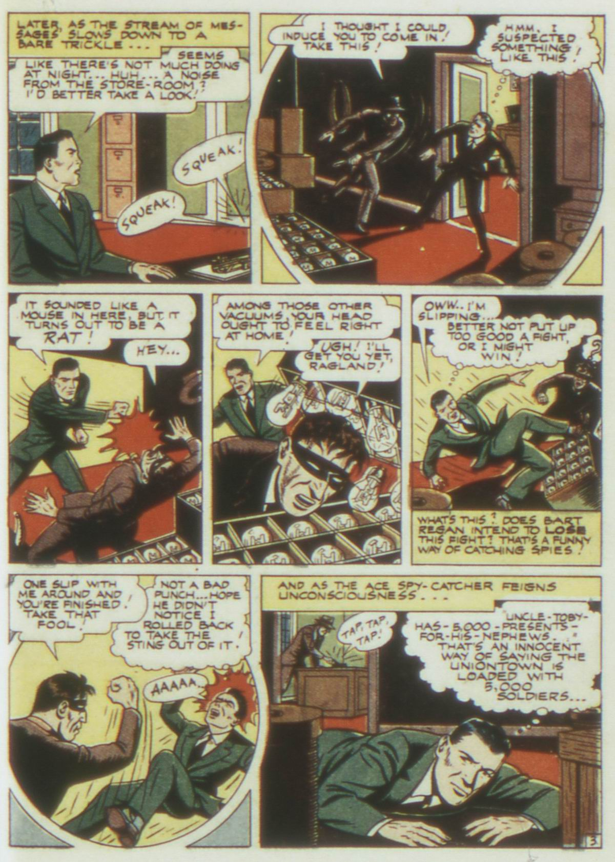 Read online Detective Comics (1937) comic -  Issue #77 - 35