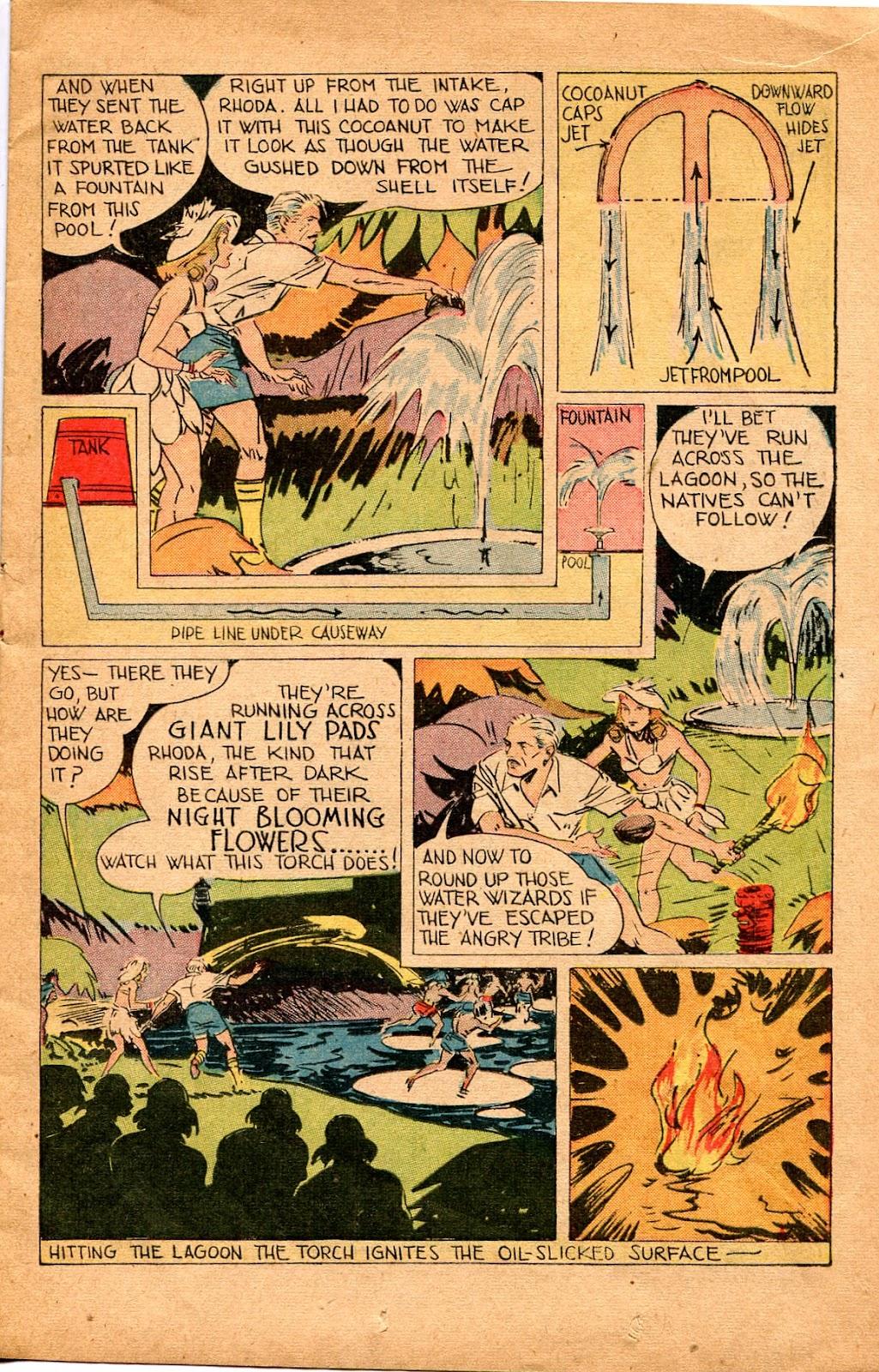 Read online Super-Magician Comics comic -  Issue #34 - 15