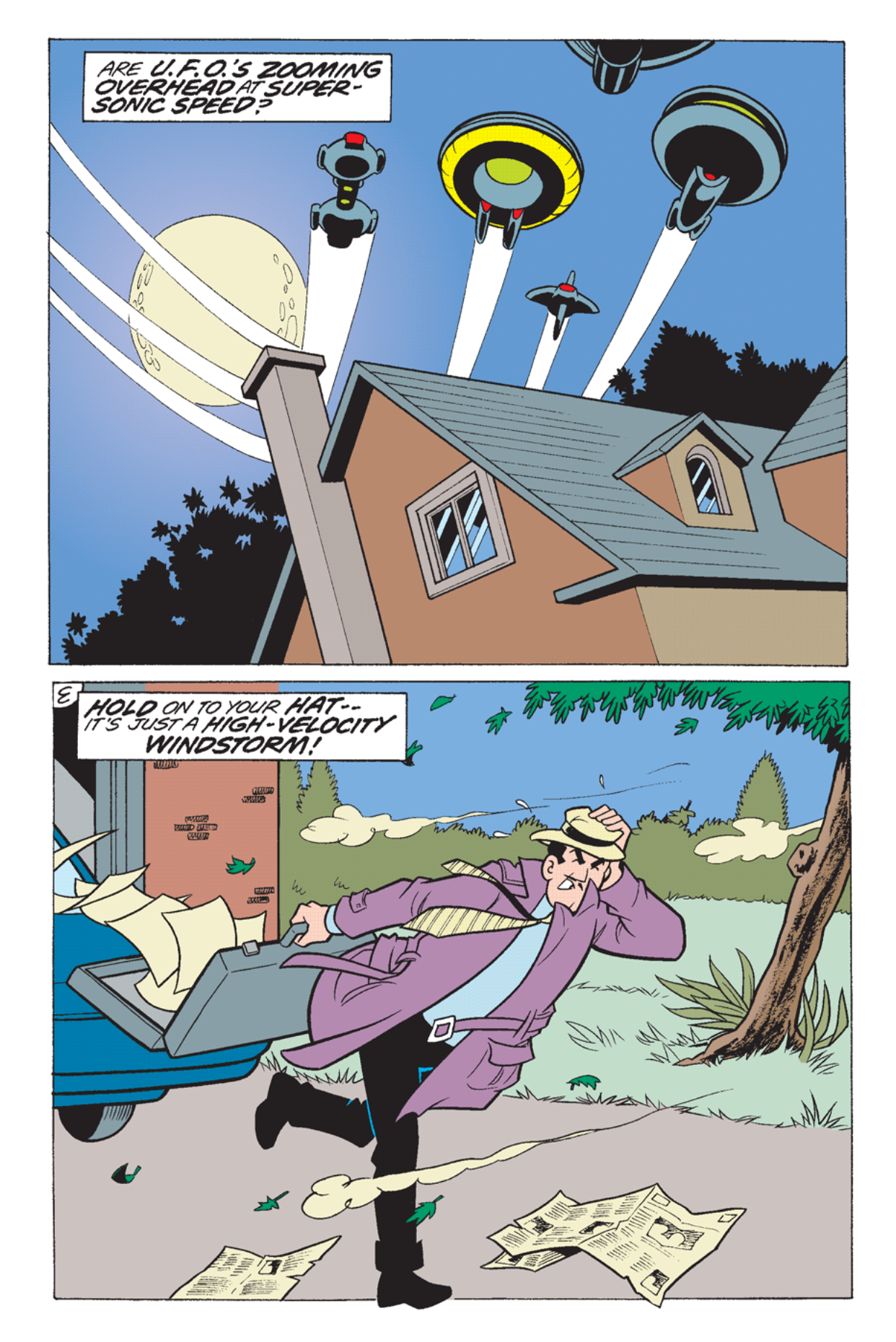 Read online Archie's Weird Mysteries comic -  Issue #23 - 22