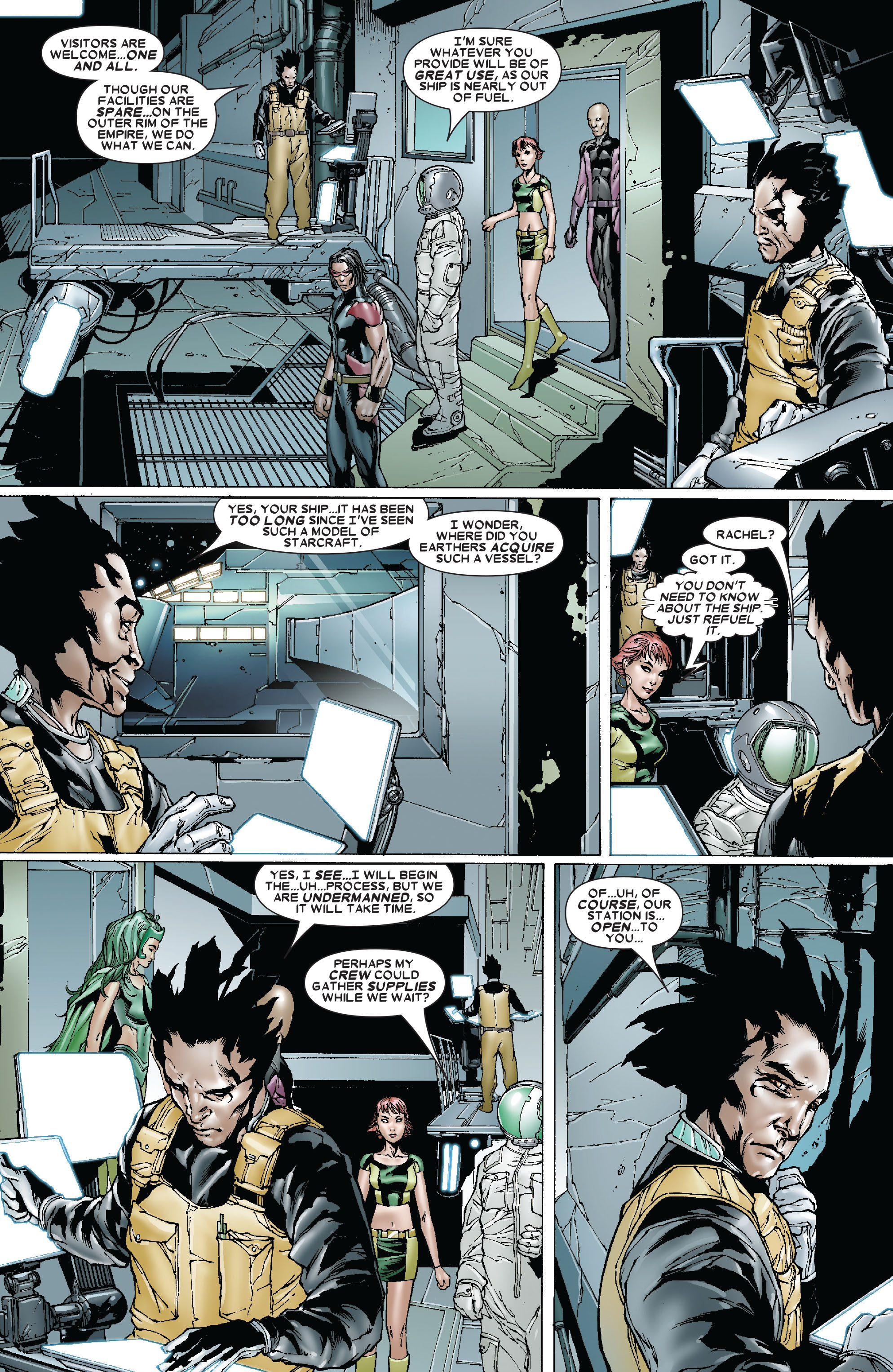 Read online Uncanny X-Men (1963) comic -  Issue #478 - 5