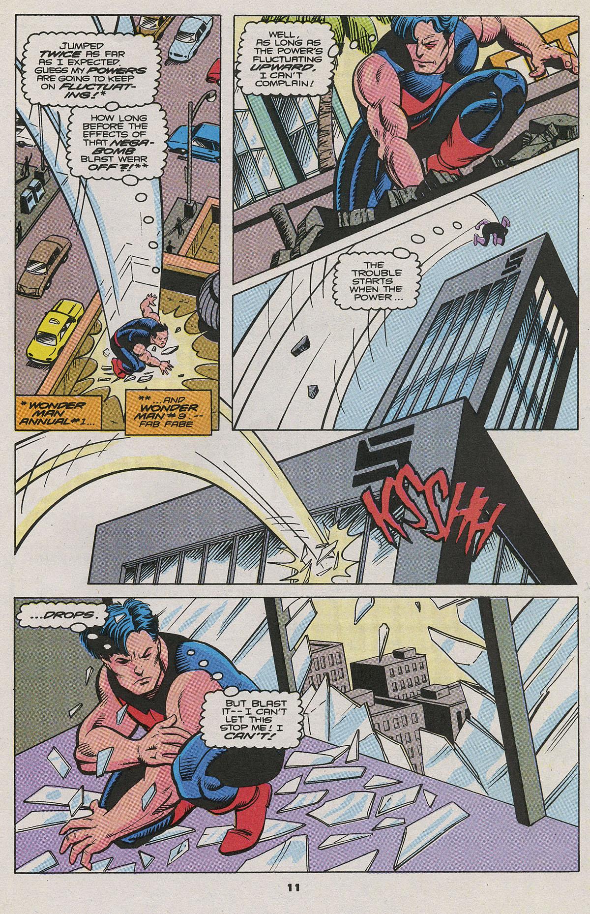Read online Wonder Man (1991) comic -  Issue #11 - 8
