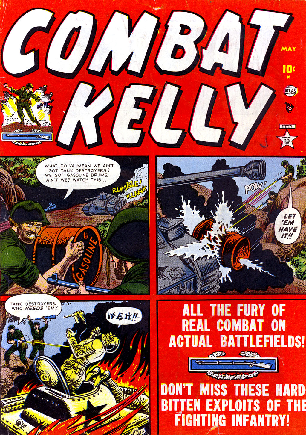 Combat Kelly (1951) 4 Page 1