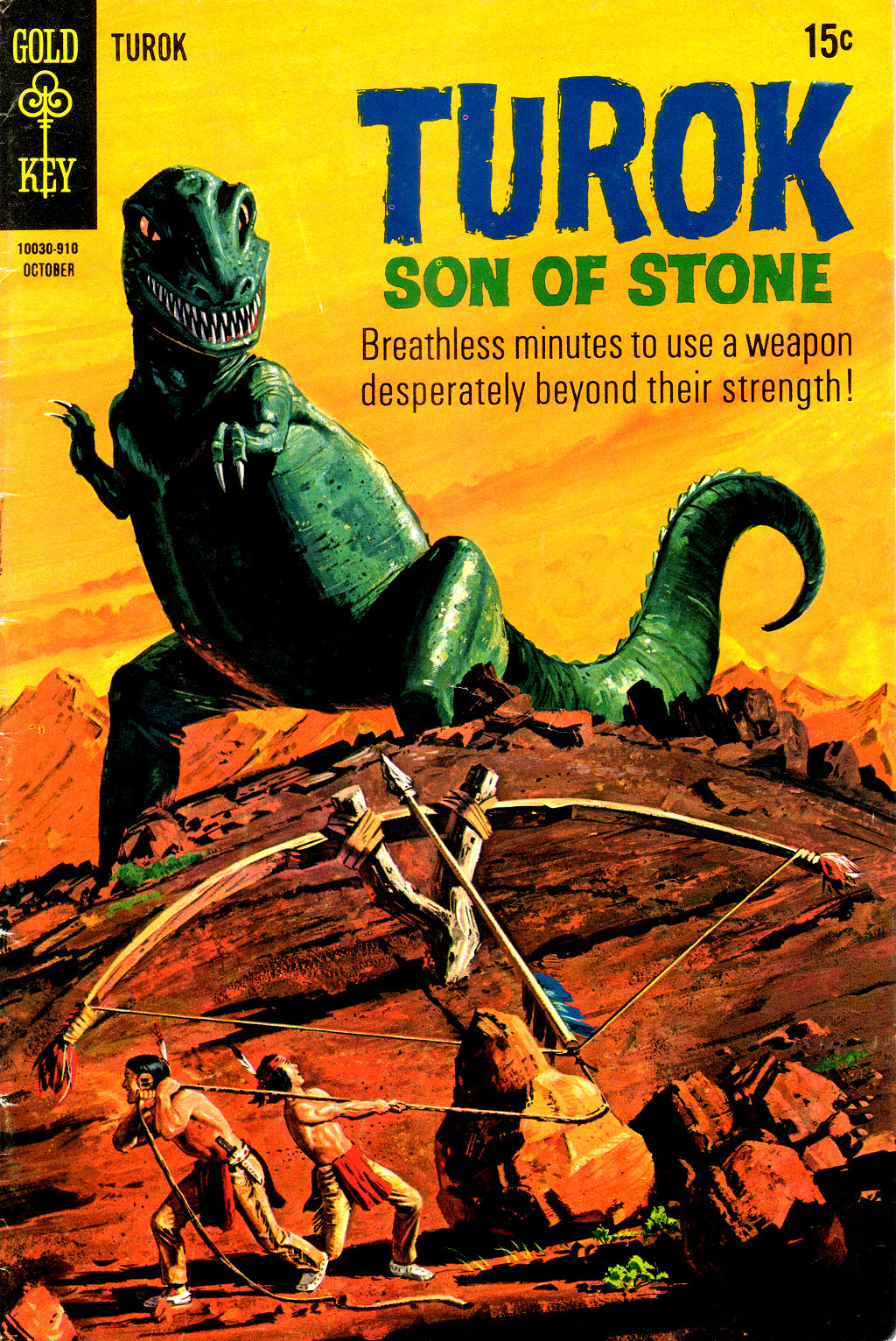 Read online Turok, Son of Stone comic -  Issue #67 - 1
