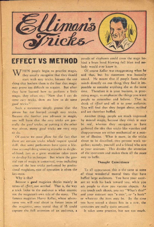 Read online Super-Magician Comics comic -  Issue #54 - 24