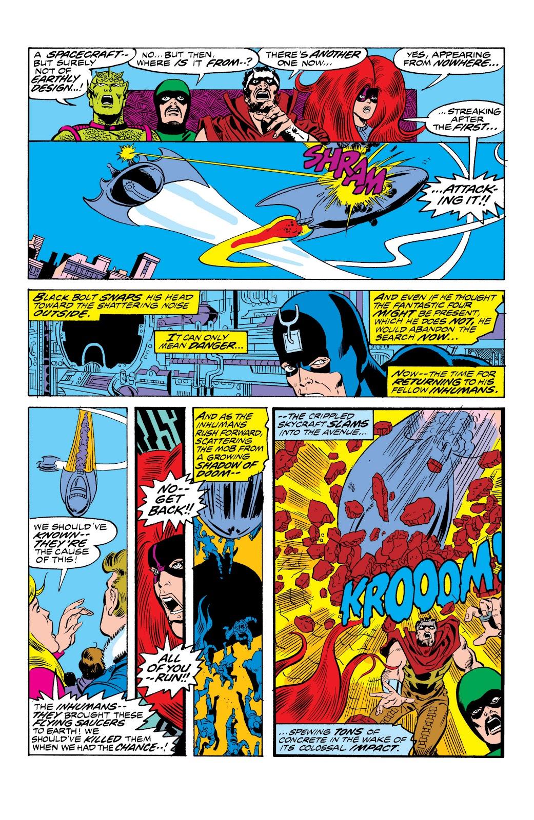 Read online Marvel Masterworks: The Inhumans comic -  Issue # TPB 2 (Part 1) - 57