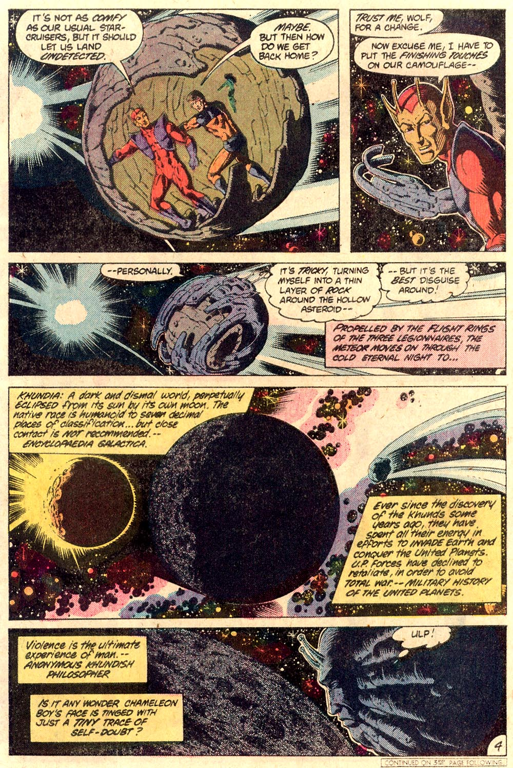Legion of Super-Heroes (1980) 287 Page 4