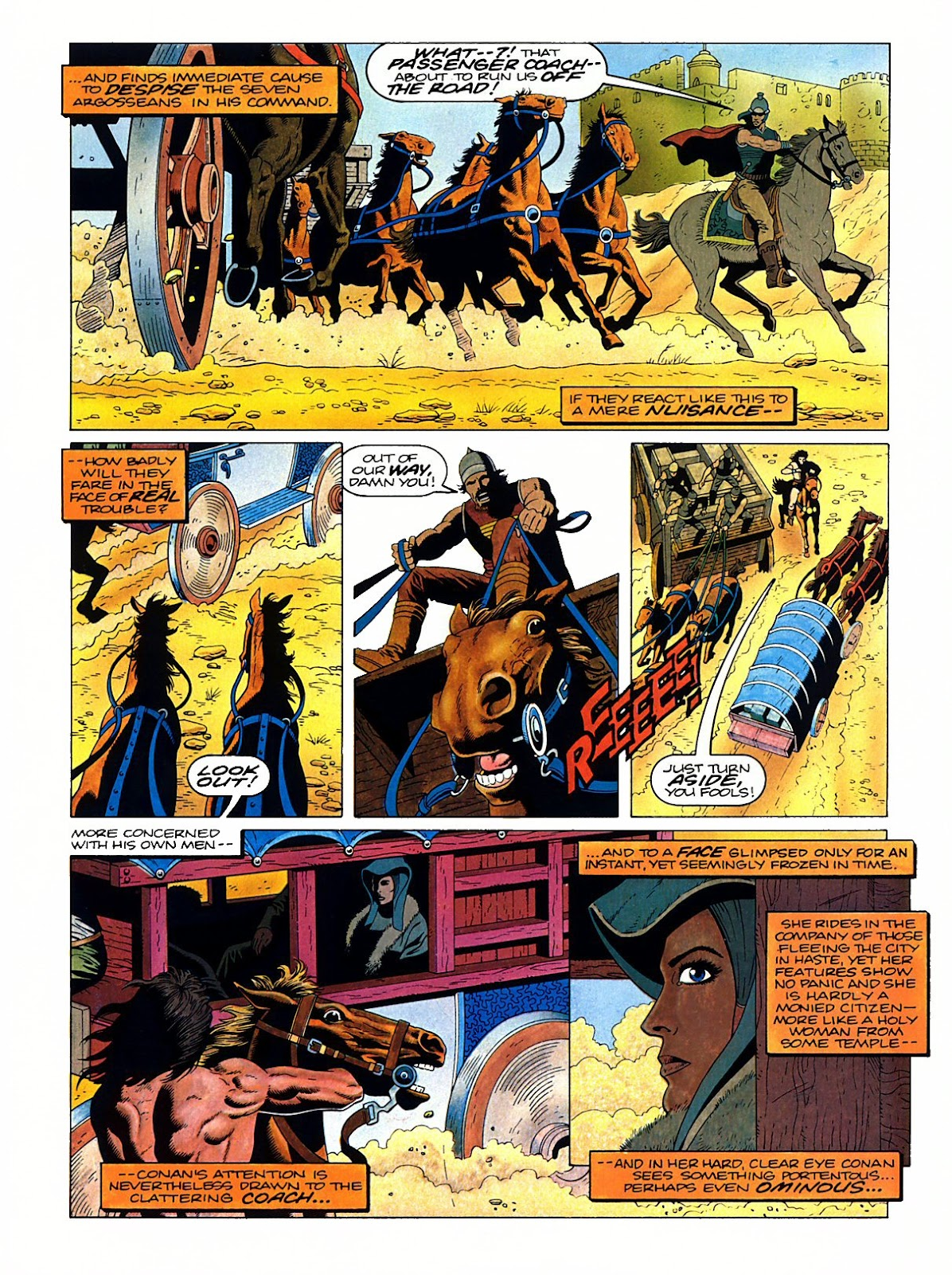 Read online Marvel Graphic Novel: Conan the Barbarian: The Skull of Set comic -  Issue # Full - 10