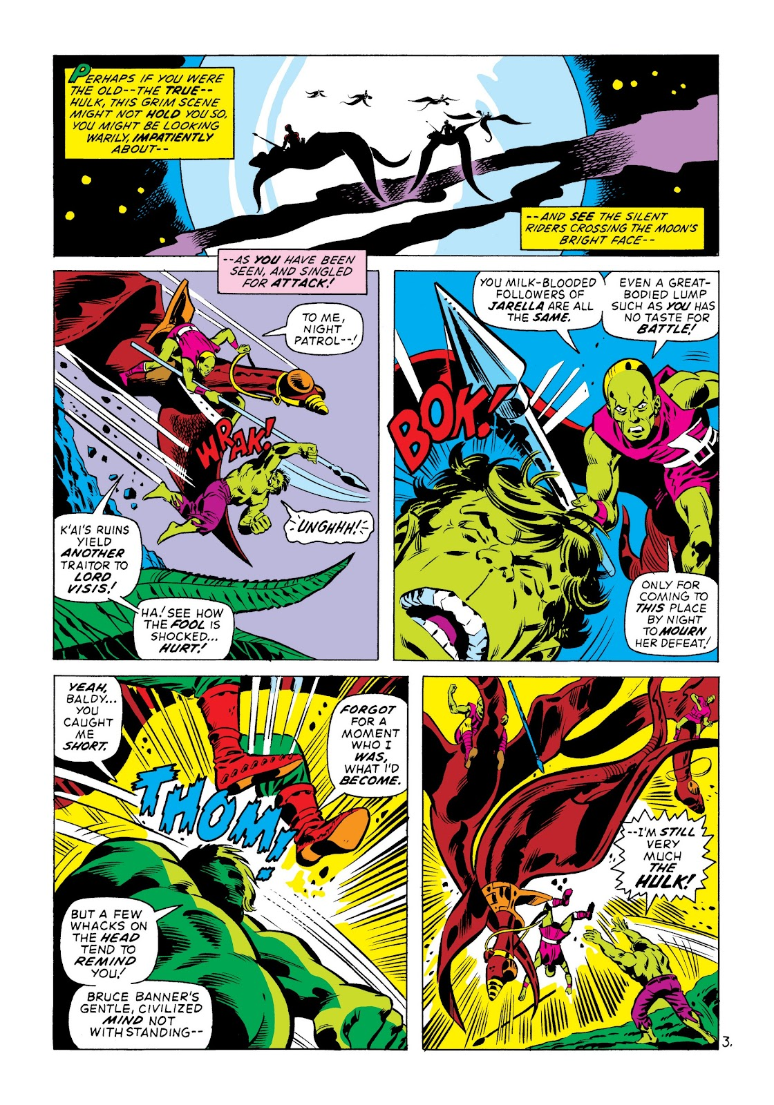 Read online Marvel Masterworks: The Incredible Hulk comic -  Issue # TPB 8 (Part 3) - 64