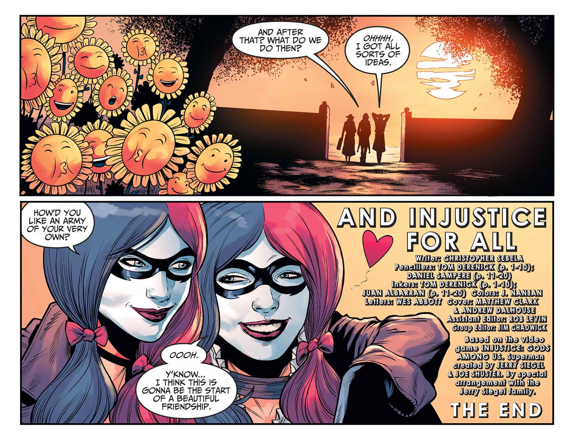 Read online Injustice: Ground Zero comic -  Issue #24 - 23