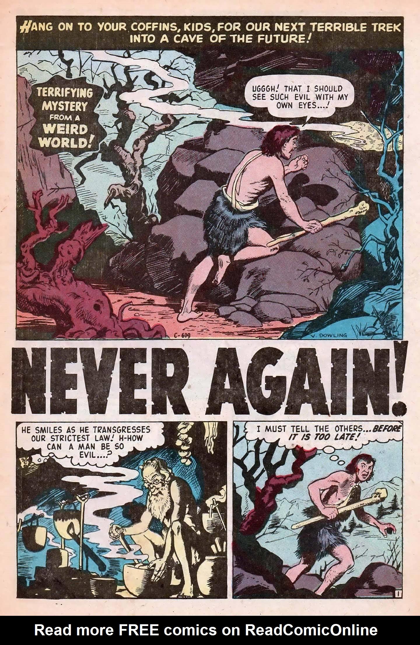 Read online Adventures into Weird Worlds comic -  Issue #20 - 23