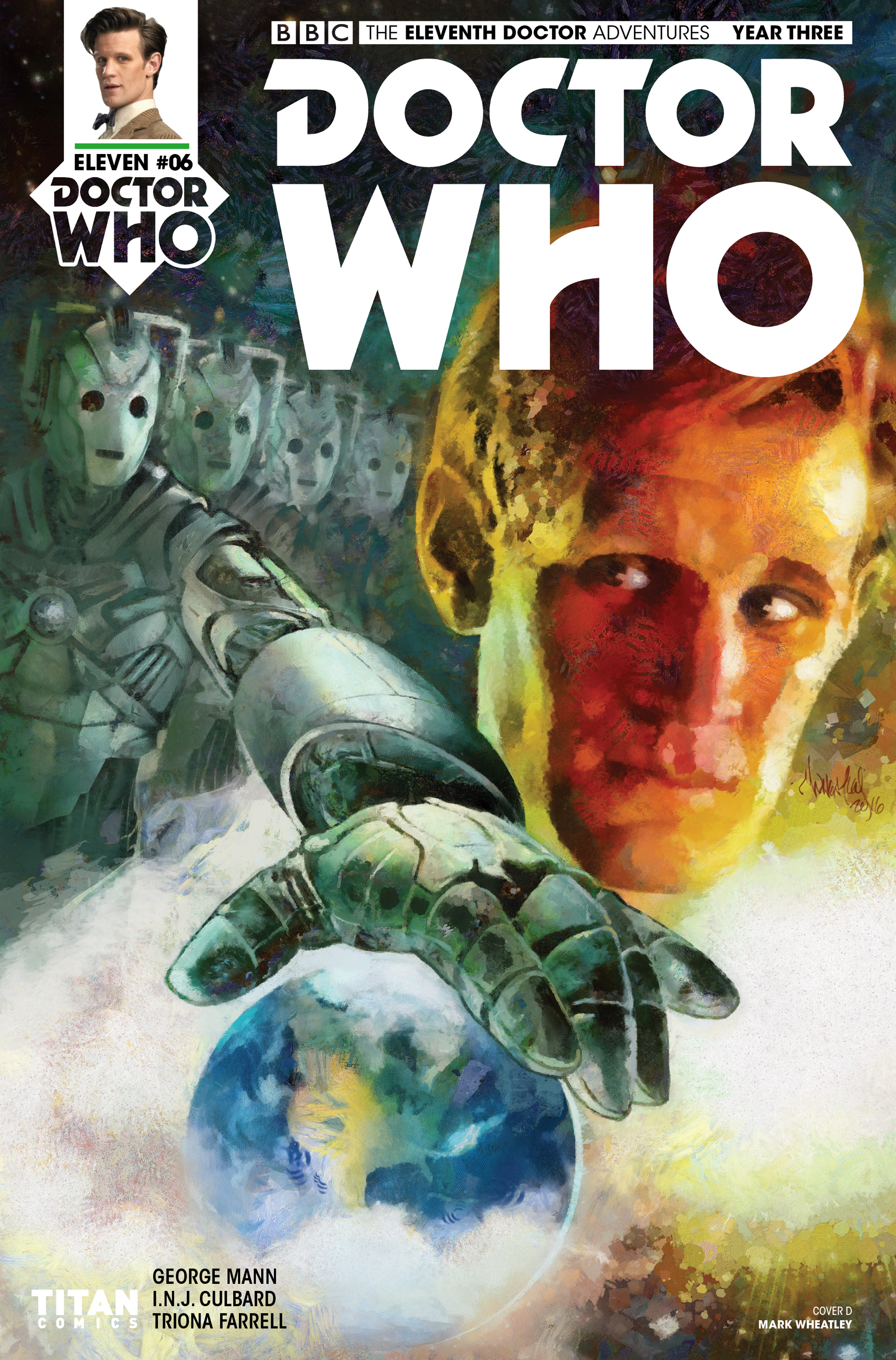Read online Doctor Who: The Eleventh Doctor Year Three comic -  Issue #6 - 4