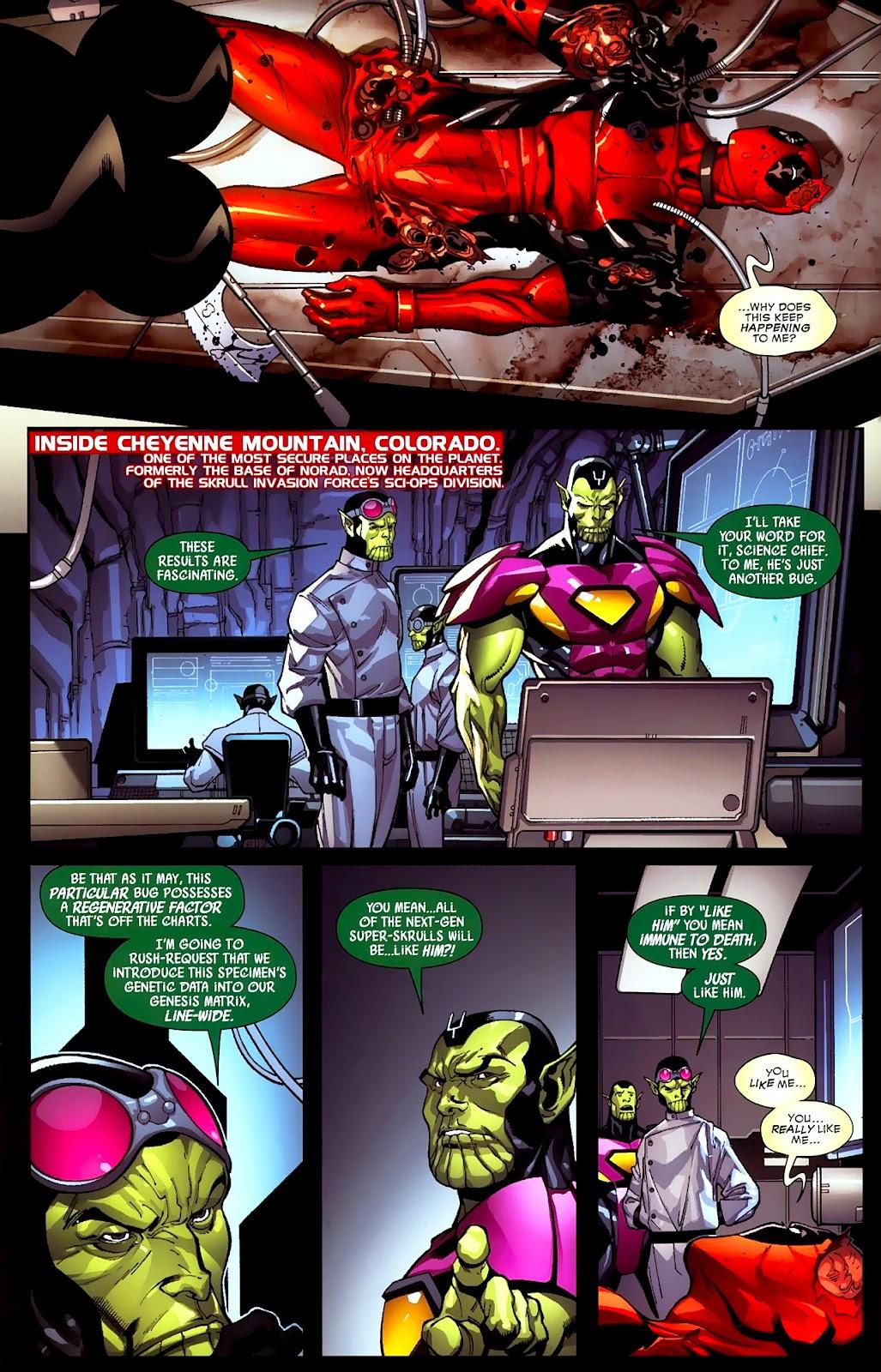 Read online Deadpool (2008) comic -  Issue #2 - 8