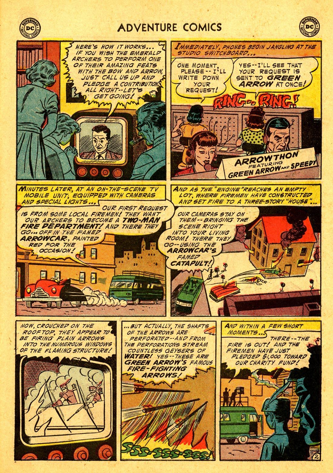 Read online Adventure Comics (1938) comic -  Issue #204 - 35