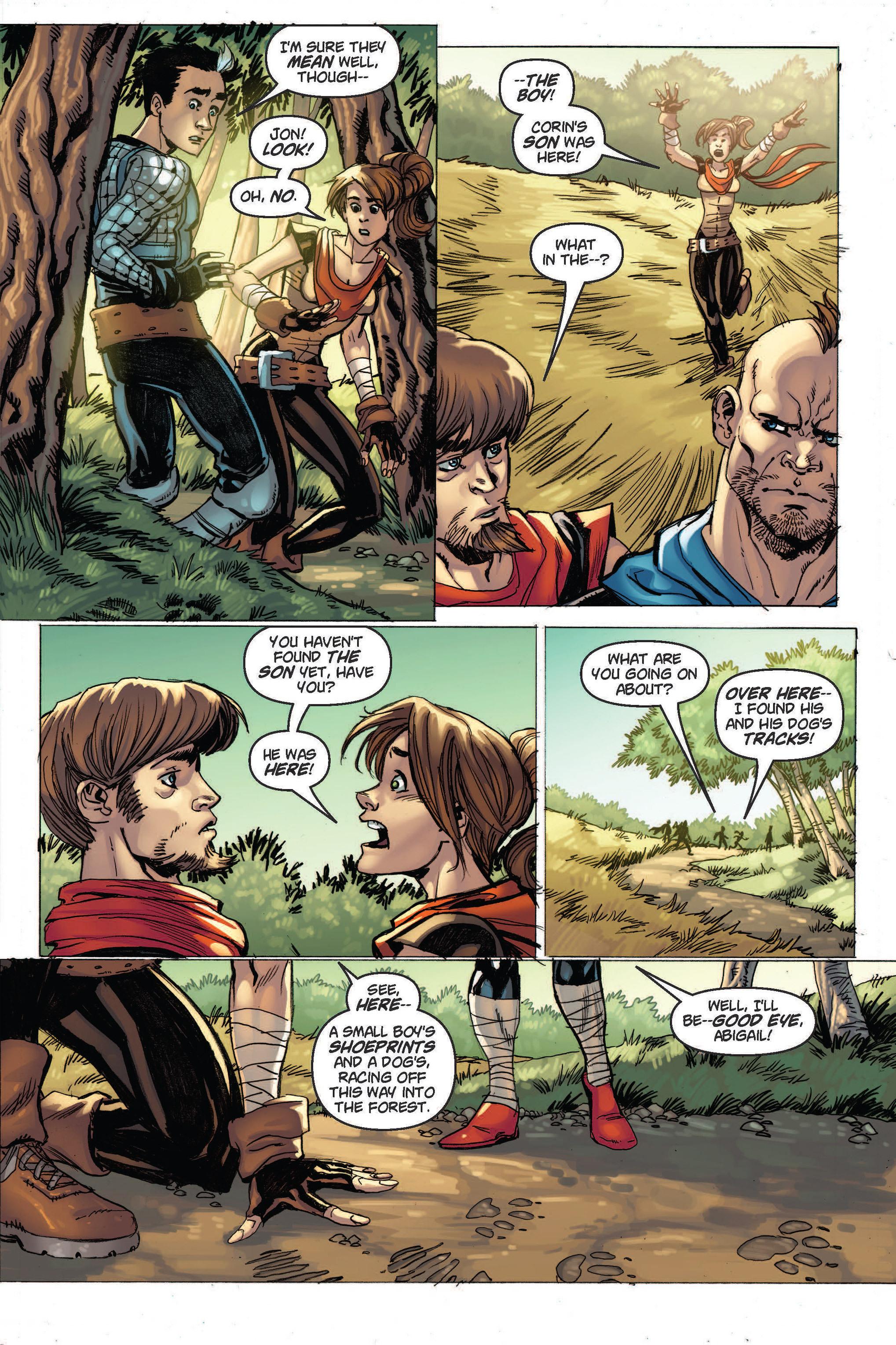 Read online Skyward comic -  Issue #2 - 10